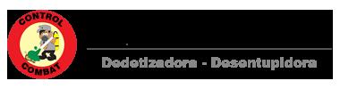 Logotipo Control Combat, desentupidora e Dedetizadora 24h